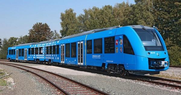 法国阿尔斯通公司推出了世界上首款氢动力客运列车
